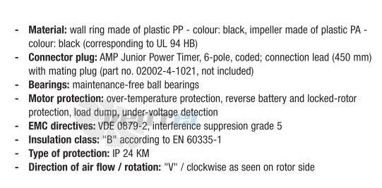 Купить вентилятор EBMPAPST W3G300-EQ22-90