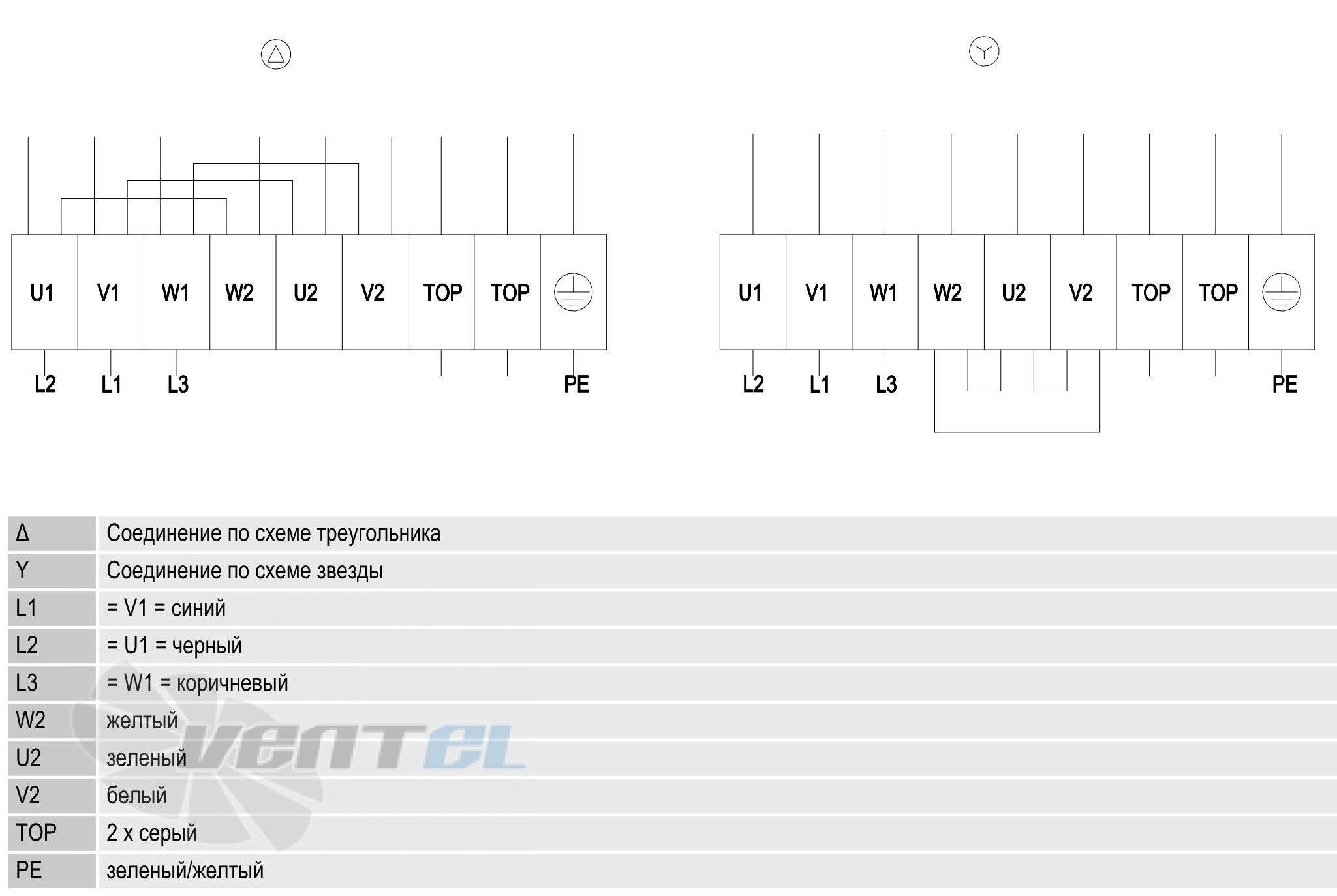 Схема A6D630-AN01-01 подключения