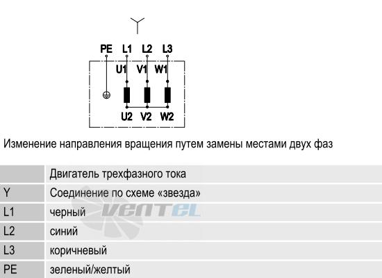 Схема S4D300-AS34-31 подключения