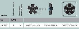 EBMPAPST S3G500-BE33-01 прайсы