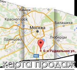 Карта продаж
