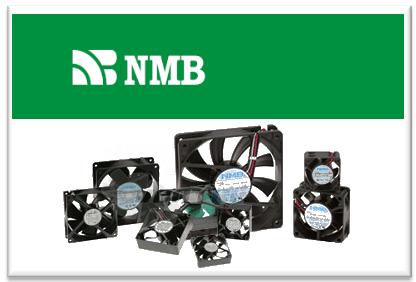 Осевые 12В и 24В вентиляторы NMB