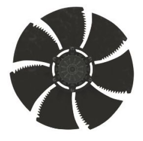 Осевой вентилятор Ziehl-abegg FN042-4ED.2F.A7P1