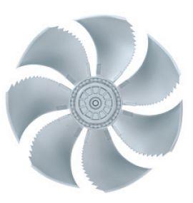 Осевой вентилятор Ziehl-abegg FN050-SDA.4F.A7P1