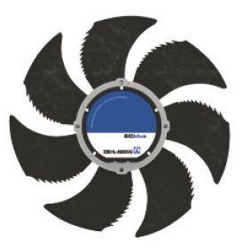 Осевой вентилятор Ziehl-abegg FN050-ZIQ.DC.V7P2