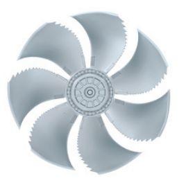 Осевой вентилятор Ziehl-abegg FN056-6EF.4I.V7P2
