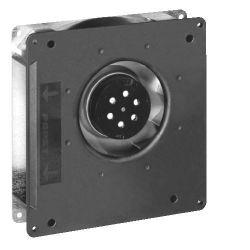 Вентилятор радиальный RG125-19 AC