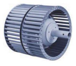 Центробежный вентилятор Ziehl-abegg RZ-P рабочее колесо