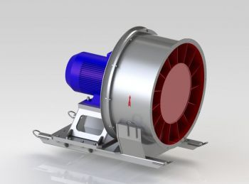ВО осевые одноступенчатые вентиляторы. ВО-16 для проветривания шахт, рудников, тоннелей.