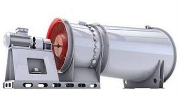 Вентилятор ВО-12АН высоконапорный осевой