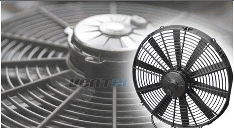 автомобильный вентилятор Spal 12B, 24B купить