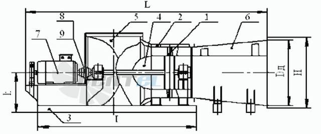 Вентилятор ВО