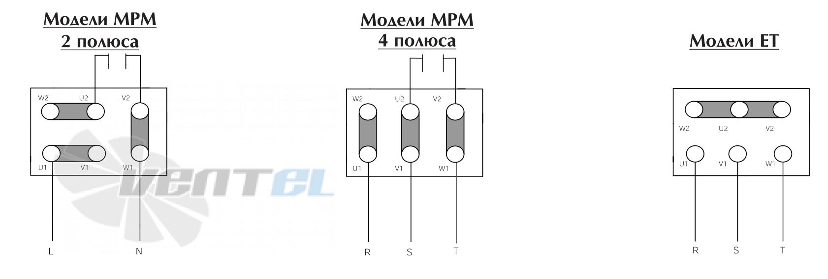 Схема электрического подключения