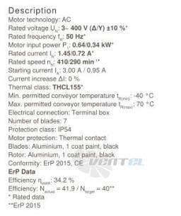 Осевой вентилятор Ziehl-abegg FC100-NDF.7M.A7