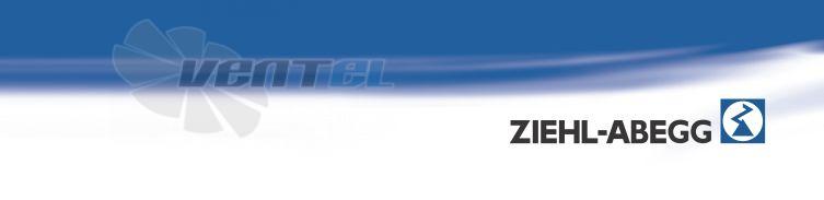 Вентиляторы Ziehl-abegg серия RH-M EX купить, прайс, взрывозащищенные