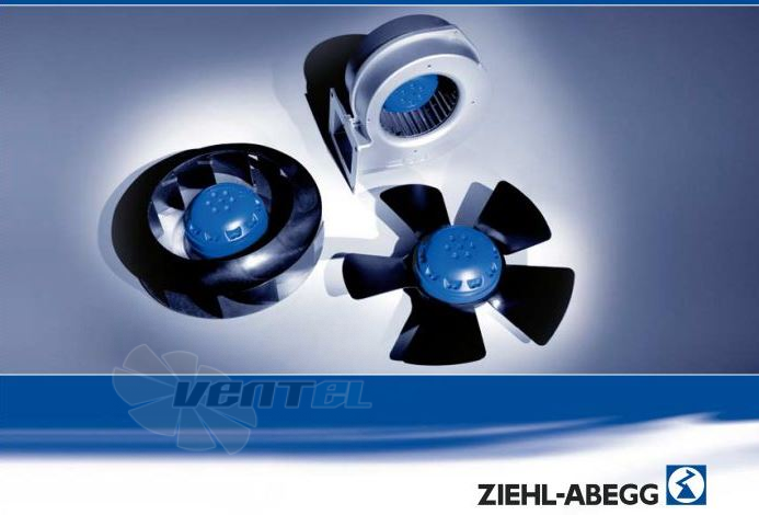 Ziehl-abegg серия RG-Ф купить, каталог, радиальные