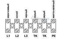 Схема электрического подключения 380В