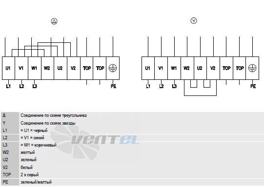 A6D910-AA01-01 схема электрического подключения