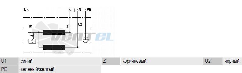 Схема S4E300-AS72-30 подключения