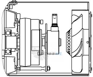 Конструктивная модификация электроэлектродвигателя ДАР. Рисунок 2