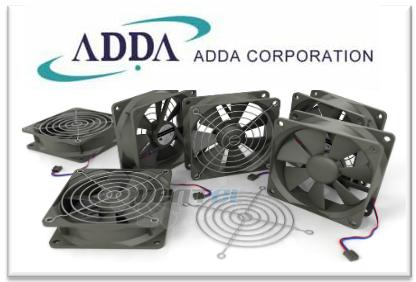 Вентиляторы для охлаждения электроники ADDA