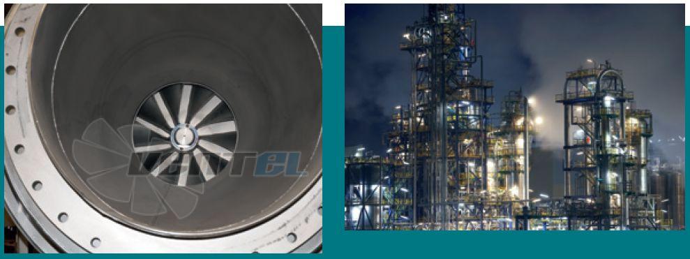 Вентиляторы Piller для нефтехимии, петрохимии. Сертификаты и каталоги