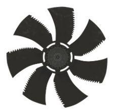 Осевой вентилятор Ziehl-abegg FN045-4ED.2F.A7P2