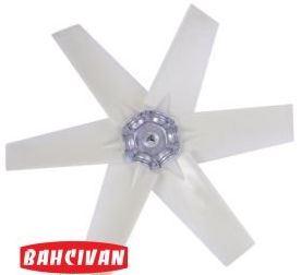Пластмассовая крыльчатка Bahcivan B6P, B5P