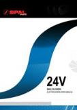 автомобильный радиальный SPAL 24V размеры