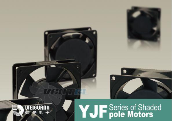 компактные вентиляторы Weiguang YJF для охлаждения электроники. Аналоги и замена