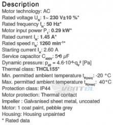 Вентилятор Ziehl-abegg RG20P-4EK.2F.1R цены, каталоги, прайсы